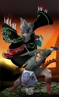 Zant vs Link - Zelda Twilight princess by zeldanatico