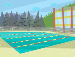 TDS BG - School Pool by hielorei
