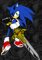 Sonic and the Black Knight by KinGarcia