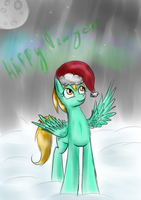 Lightning Dust new year by HorrorTime