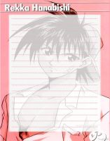 Stationary -- Flame of Recca by dEeYaN