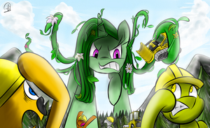 Go Away! by PhuocThienCreation