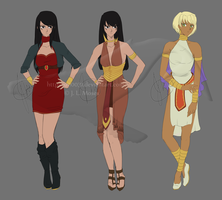 C: Mirage/Iris Outfit Design by 990031