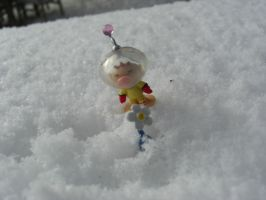 new blue  pikmin figures by Olimar666