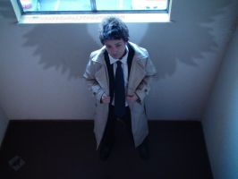 Castiel: Gripped You Tight by VandorWolf