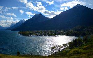 overlooking waterton by liqui