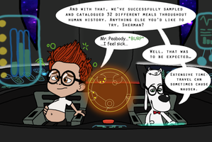 Mr. Peabody and Sherman WG by Mothman64