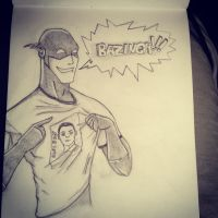 BAZINGA scetch by Mashak-B