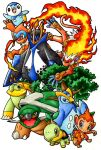 Pokemon - Starters Pokemon Generation 4 by Arelle28