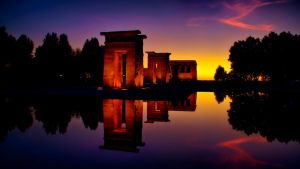Temple of Debod by adrumo