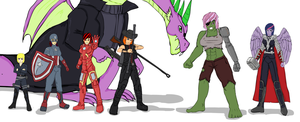 Fallout Equestria: The Avengers by glue123