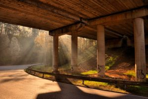 Under the highway by tomsumartin