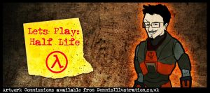 DENNIS Play's Halflife Titlecard by devillo
