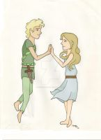 Peter and Wendy by TheSecondStar
