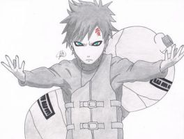 Sabaku no Gaara by jetg10