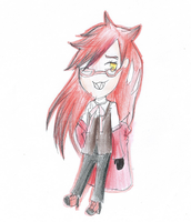 Grell chibi !!!! by htfloveAPH