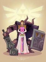 Princess Zelda by jason92