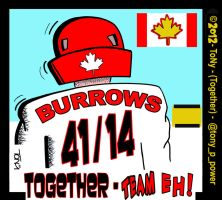 RED and White Team Canada 2012 by tony-p-power