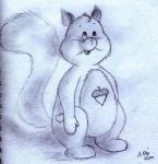 Care Bear Squirrel by Milayou