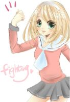 Fighting!! by tip3361
