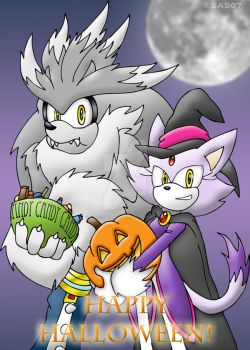Happy Halloween 2009 by silveramysaurus07