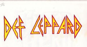 Def Leppard Sharpie and CP by TeeStall