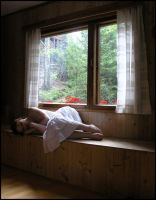 By The Window I by Eirian-stock