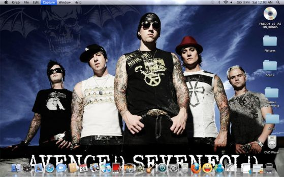 A7X Wallpaper by DeganaBalkar