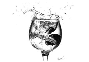 A storm in a glass of water by marchesme