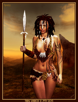 Tribal Warrior by poserfan
