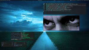 Awesome on Arch Linux - July 2013 by transienceband