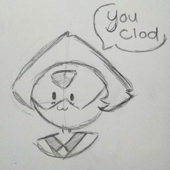 You Clod by SpaceChildHere