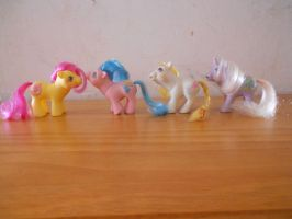 my little pony collection:drink n' wet baby ponies by theladyinred002
