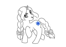 MLP - Frost Sugar Inked by Wildnature03