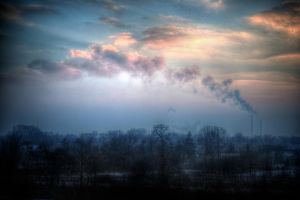 Winter Pollution by kubica