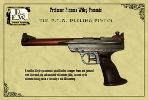 The P.F.W. Dueling Pistol by davincisghost