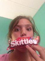Skittles anybody? by libbyscrazyart2003
