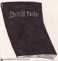 The Death Note by paranoiaPRODIGY