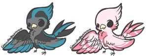 OTA bird adopts (closed) by Sanity-Adopts