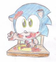 dirty baby sonic by LeniProduction