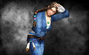 Julia Chang - Tekken 4 Outfit (1P) REMAKE by Changinformatica