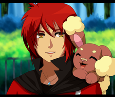 Judai and Bunneary by MzzAzn