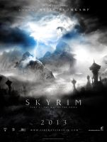 Skyrim Movie Poster by boup0quod