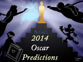 Mr Coat - Oscar Predictions 2014 by qwertypictures