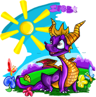 SPYRO IN HAPPY BOUNCY LAND 8D by Spyroflamesredsbum