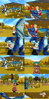 A MMD comic forgot to submit : The scarecrows by JackFrost-LCDA
