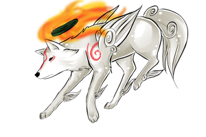 Amaterasu by nhinhe