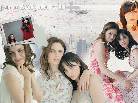 Deschanels by SmileUmbrella