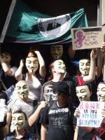 CoS protest 2 by caylem00