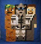 Minecraft Friends Quilt Second Edition by 8bitHealey